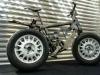 Fahrrad mit breiten Reifen
