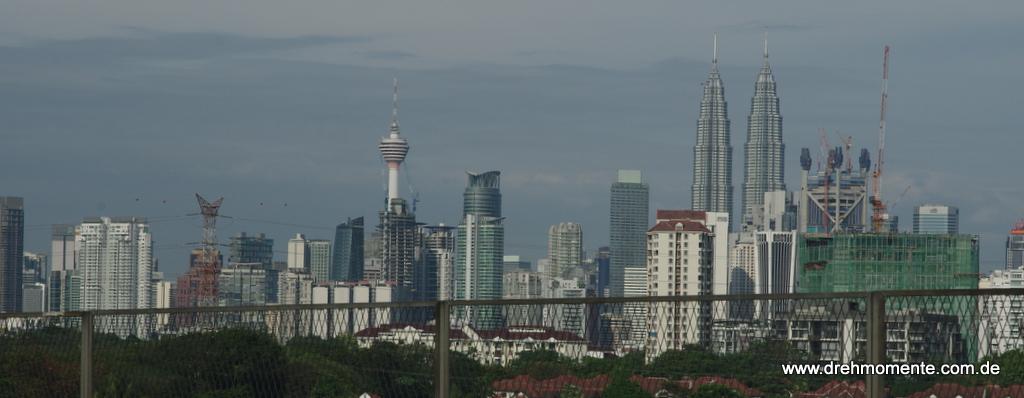 Skyline von KL mit den Twin Towers