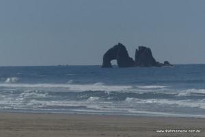Twin Rocks bei Rockaway Beach