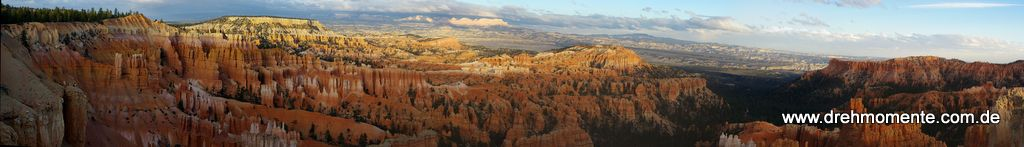 180 Grad Blick in den Bryce-Canyon